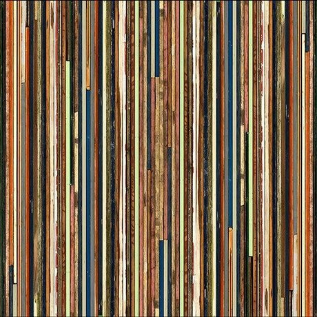 "NLXL-Piet Hein Eek Wallpaper 'Scrapwood 15 ""paper 900 x 48.7 cm multicolor"