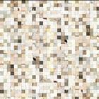 "NLXL-Piet Hein Eek Wallpaper ""Scrapwood 16"" papier blanc / brun 900 x 48,7 cm"