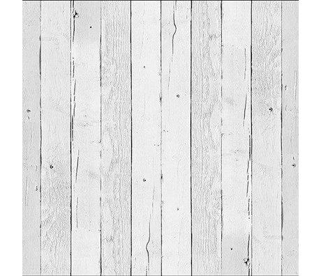 NLXL-Piet Hein Eek Tapete 'Scrapwood 11' Papier weiß 900 x 48,7 cm