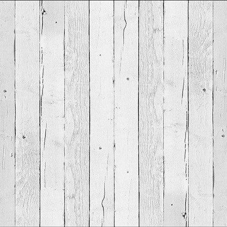 NLXL-Piet Hein Eek Behang 'Sloophout 11' papier wit 900 x 48,7 cm