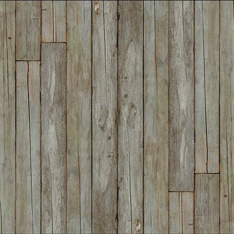 "NLXL-Piet Hein Eek Wallpaper 'Scrapwood 14 ""paper-white gray / brown 900 x 48.7 cm"