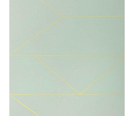 Ferm Living Wallpaper Lines mint 10x0,53m
