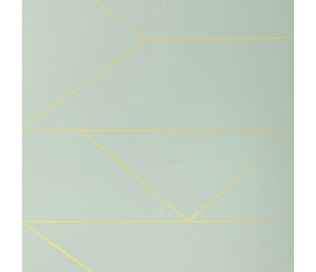 Ferm Living Wallpaper Linien mint 10x0,53m