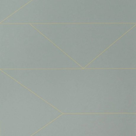 Ferm Living Wallpaper Lines grijs10x0,53m