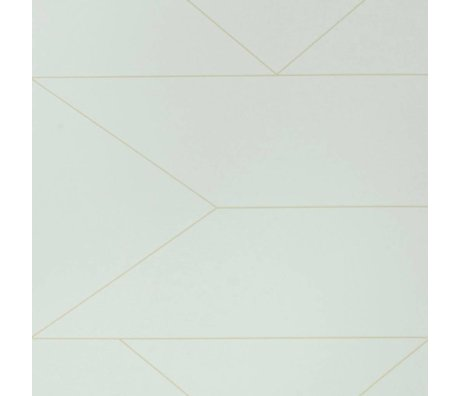 Ferm Living Lines wallpaper off-white 10x0,53m