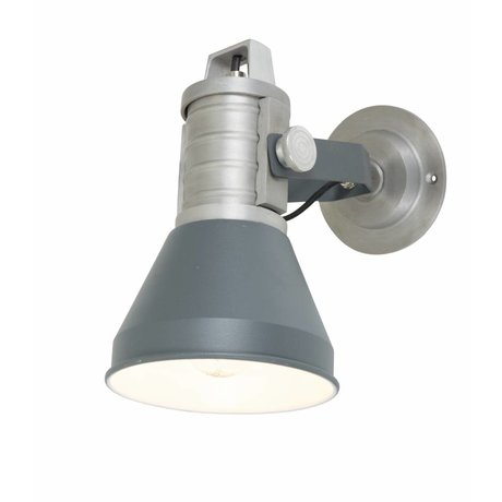 Anne Lighting Applique Brusk anthracite ø16x35x27cm en métal gris