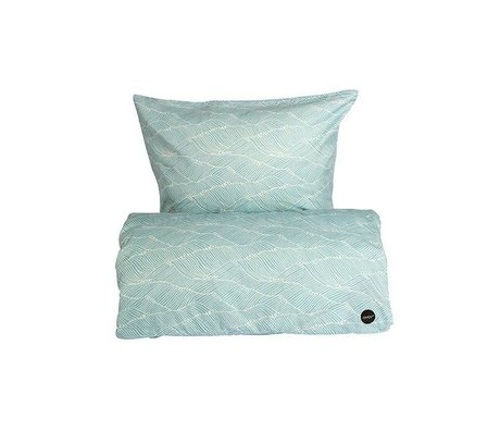 OYOY Couette Poipoi bébé coton bleu 70x100cm