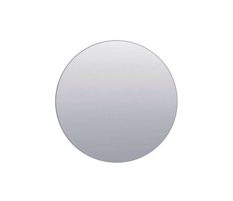 Housedoctor Walls mirror silver gray glass ø80cm
