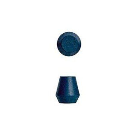 OYOY Haakjes Saki set van twee blauw hout Ø2,3x2,5cm