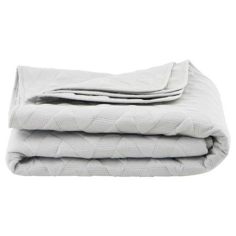 Housedoctor White cotton bedspread Leh 140x220cm