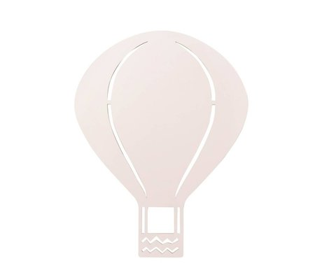 Ferm Living Applique murale air balloon rose bois 26,5x34,55cm