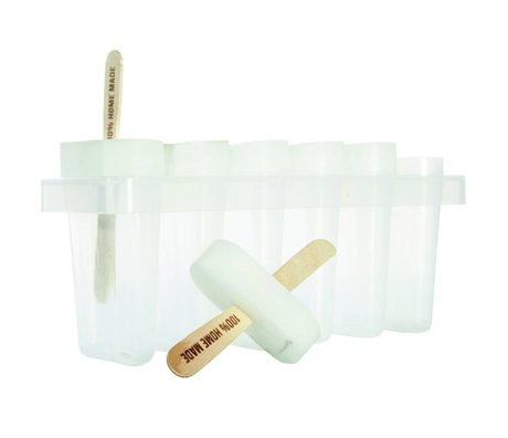 Nicolas Vahe Ice making set white plastic 22x7,5x8,5cm