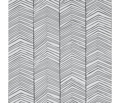 Ferm Living Wallpaper Herringbone monochrome paper 53x1000cm