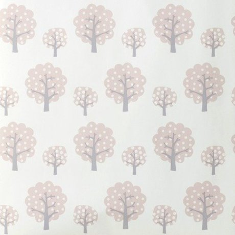Ferm Living Dotty wallpaper pink paper 53x1000cm