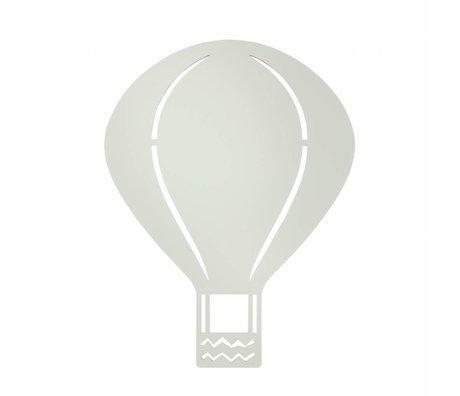 Ferm Living Wandlamp Luchtballon grijs hout 26,5x34,55cm