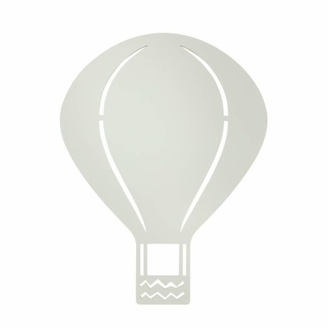 Ferm Living Wall lamp Air Balloon gray wood 26,5x34,55cm
