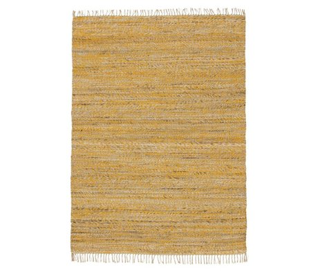 LEF collections Rug Vista yellow cotton in 4 sizes
