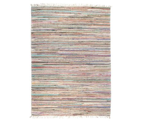 LEF collections Rug Brasil multicolored textiles in 2 sizes