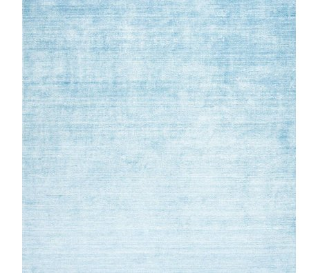 LEF collections Bamboo Rug blue textile 160x230cm