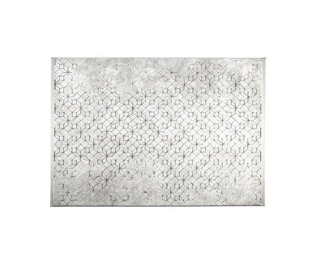 Zuiver Yenga carpet gray 160x230cm