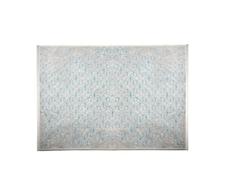 Zuiver Tapis Yenga Breeze bleu 160x230cm