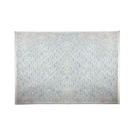 Zuiver Teppich Yenga Breeze blau 160x230cm