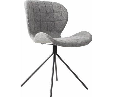 Zuiver Dining chair OMG light gray 50x56x80cm