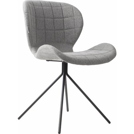 Zuiver Dining chair OMG light gray 50x56x80cm