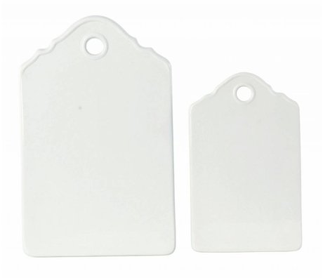 Housedoctor Cutting Boards 'Ida' set of two ceramic 24x15cm and 31x20cm