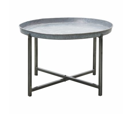 Housedoctor Table d'appoint Cool Metal Argent ø70x45cm