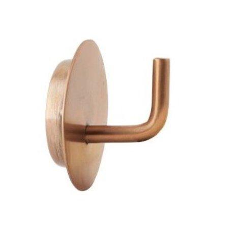 Housedoctor Text Haken Aluminium Gold ø4x3cm