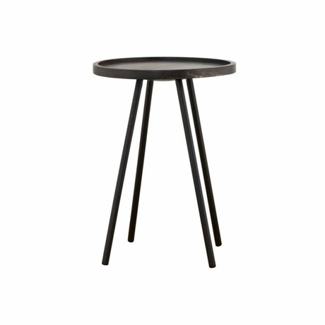 Housedoctor Occasional table Juco black metal ø40x55cm