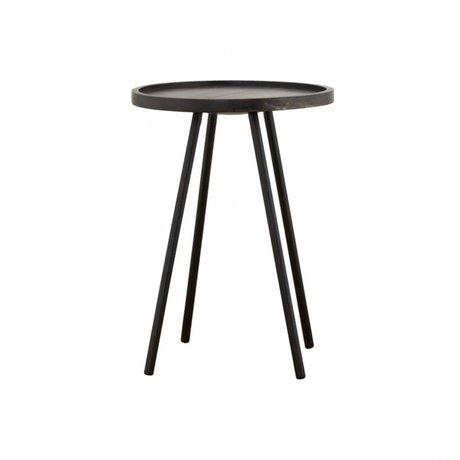 Housedoctor Table d'appoint Juco ø40x55cm en métal noir