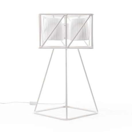 Seletti Lampe de table Multi Table Lamp blanche 35x35x66cm métallique