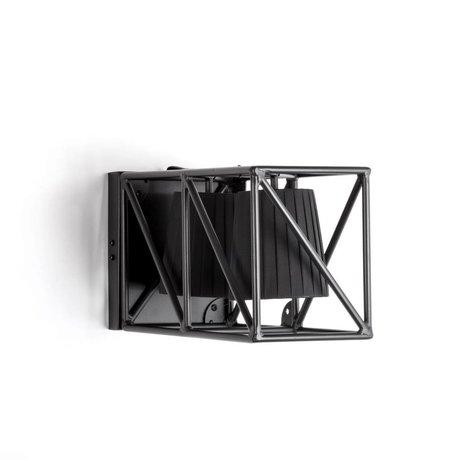 Seletti Applique lampe multi mur noir 38x22x17,5cm en métal noir