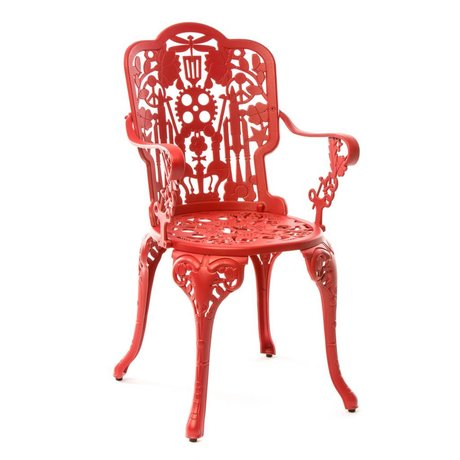 Seletti Industry Chair red aluminum 52x55x94cm