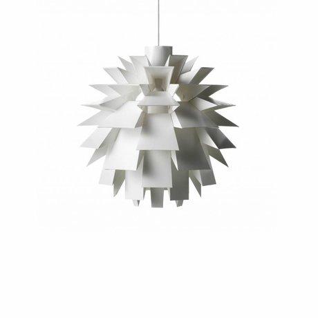Normann Copenhagen Lampe suspendue Norm 69 lampe feuille blanche S Ø42x42cm