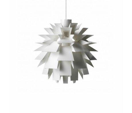 Normann Copenhagen Lampe suspendue Norm 69 lampe film blanc L Ø51x51cm