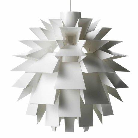 Normann Copenhagen Hängeleuchte Norm 69 Lampe Weiß-Film XXL Ø78x78cm