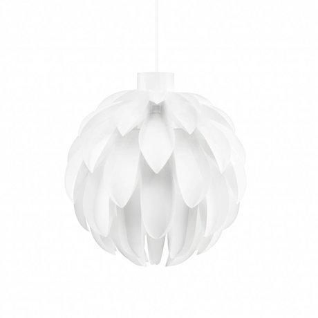 Normann Copenhagen Hanglamp Norm 12 wit lampenfolie L Ø51x53cm