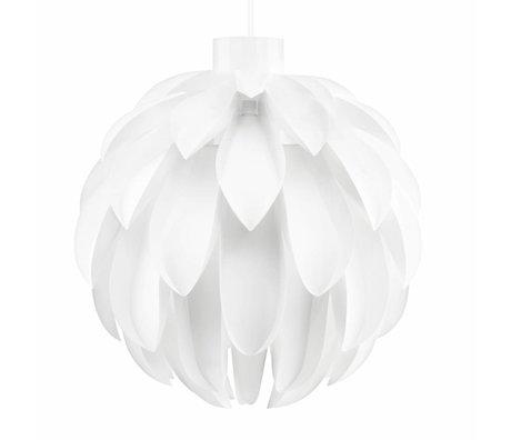 Normann Copenhagen Hanglamp Norm 12 wit lampenfolie XL Ø60x63cm