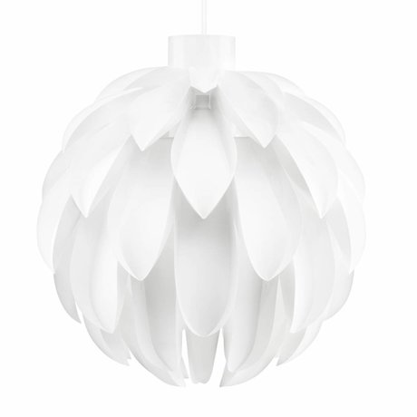 Normann Copenhagen Hängeleuchte Norm 12 Lampe Weiß-Film XL Ø60x63cm
