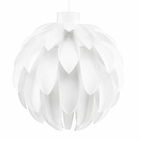Normann Copenhagen Lampe suspendue Norm 12 Lampe film blanc XL Ø60x63cm