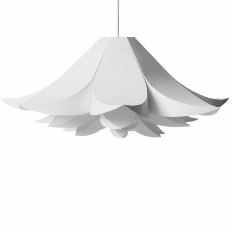 Normann Copenhagen Lampe suspendue Lampe Norm 06 film blanc M Ø62x30cm