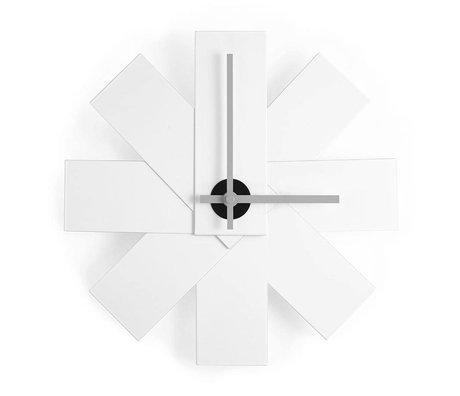 Normann Copenhagen Clock Watch me white aluminum ø28,5cm