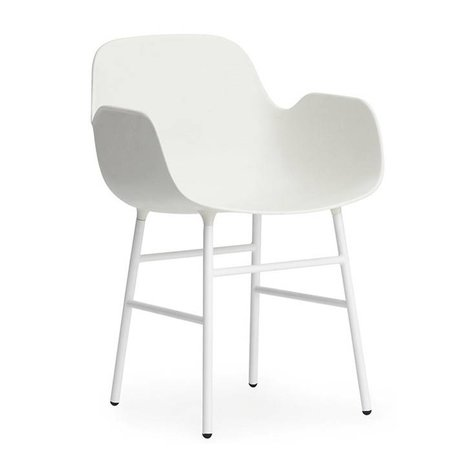 Normann Copenhagen Armchairs Form green plastic chrome 80x56x52cm - Copy - Copy