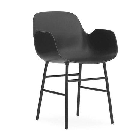 Normann Copenhagen Sessel Formular grauen Kunststoff-Stahl 80x56x52cm - Copy