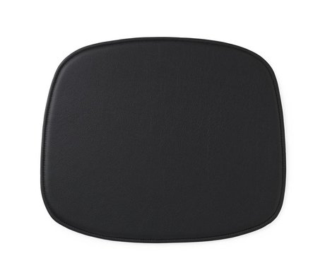 Normann Copenhagen Form zitpad black leather 1x46x39cm