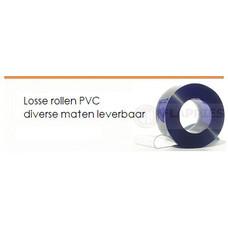 Losse rollen PVC transparant