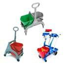 MopCar - chariots pour mop/seaux roulants